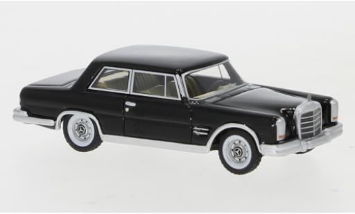 Mercedes 600 1/87 BoS Models (W100) Nallinger Coupé black 1963 diecast model cars