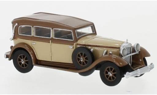 Mercedes 770 1/87 BoS Models (W07) Closed Convertible beige/marron RHD 1930 miniature