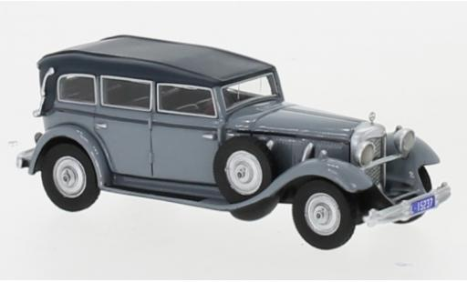 Mercedes 770 1/87 BoS Models (W07) Closed Convertible grise RHD 1930 miniature
