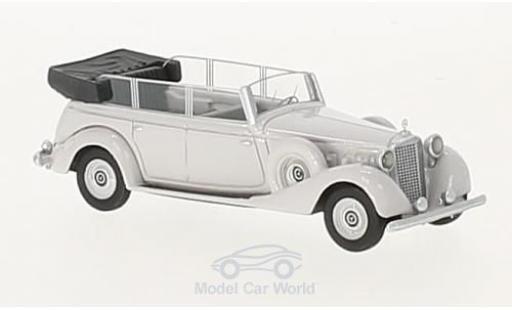 Mercedes 770 1/87 BoS Models (W150) Spezial Tourenwagen hellgrise 1938 miniature