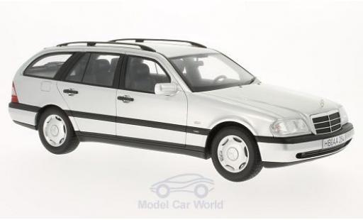 Mercedes Classe C 1/18 BoS Models C220 T-Modell (S202) grise 1996 miniature