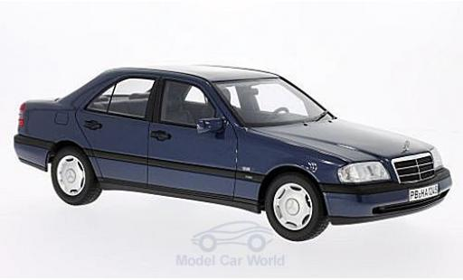 Mercedes Classe C 1/18 BoS Models C220 (W202) metallise blue 1995 diecast model cars