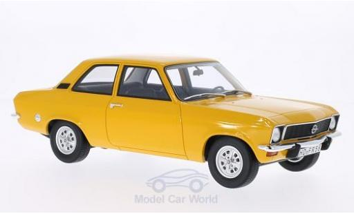 Opel Ascona C 1/18 BoS Models A jaune 1973 2-Türer miniature