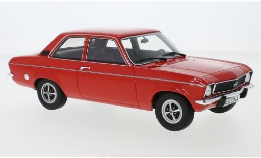 Opel Ascona 1/18 BoS Models A rouge 1973 miniature