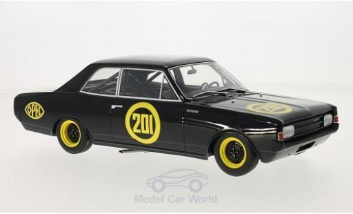 Opel Rekord 1/18 BoS Models C No.201 Schwarze Witwe 1967 miniature