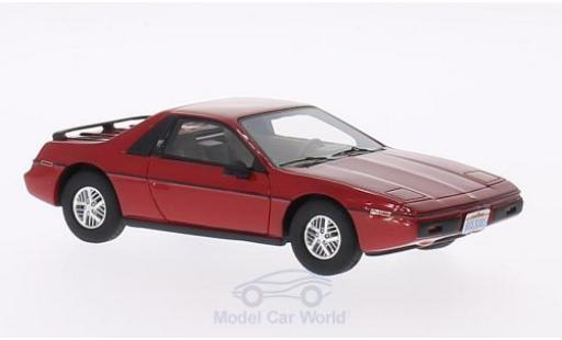 Pontiac Fiero 1/43 BoS Models 2M4 rouge 1984 miniature