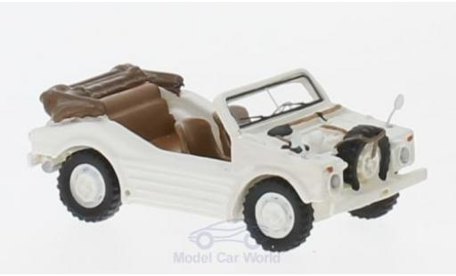 Porsche 597 1/87 BoS Models Jagdwagen white 1953 diecast model cars
