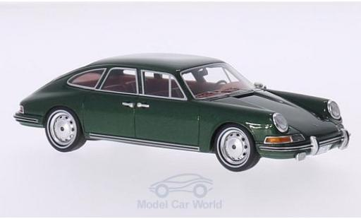 Porsche 911 SC 1/43 BoS Models S Troutman & Barnes green 1967 4-Door Sedan diecast model cars