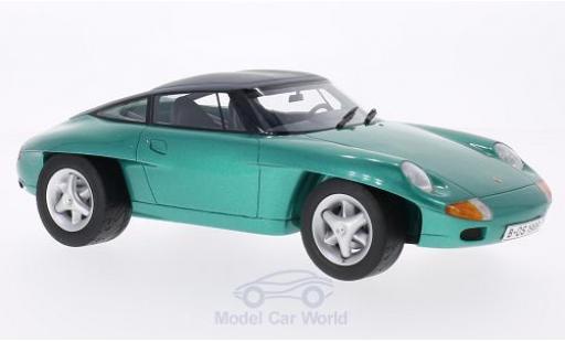 Porsche Panamericana 1/18 BoS Models Concept métallisé verte 1989 ohne Vitrine miniature