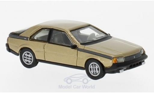 Renault Fuego 1/87 BoS Models metallise beige 1980 miniature