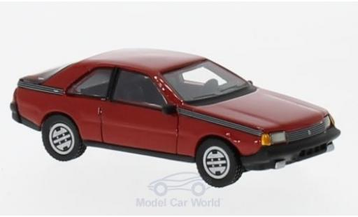 Renault Fuego 1/87 BoS Models rouge 1980 miniature