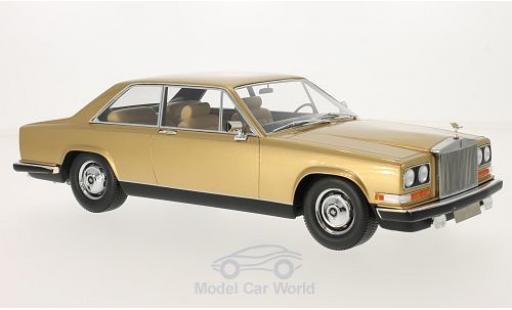 Rolls Royce Camargue 1/18 BoS Models gold 1975 diecast model cars