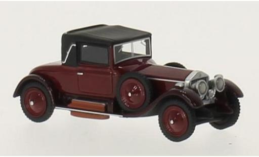 Rolls Royce Silver Ghost 1/87 BoS Models Doctors Coupe rouge/noire RHD 1920 miniature