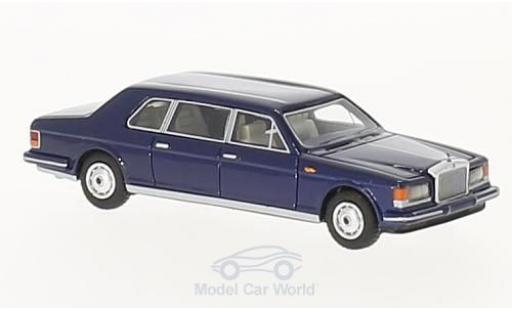 Rolls Royce Silver Spur 1/87 BoS Models II Touring Limousine bleue 1985 miniature