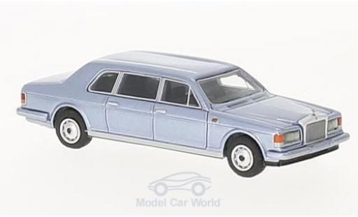 Rolls Royce Silver Spur 1/87 BoS Models II Touring Limousine metallise bleue 1985 miniature