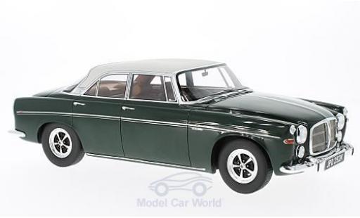 Rover P5B 1/18 BoS Models Coupe dunkelgrün/hellgrise RHD 1971 miniature