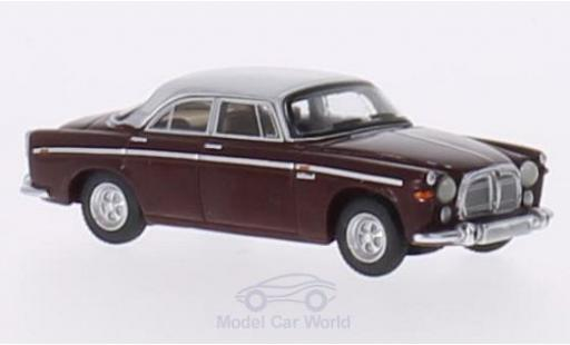 Rover P5B 1/87 BoS Models Coupe dunkelrouge/hellgrise RHD 1967 miniature