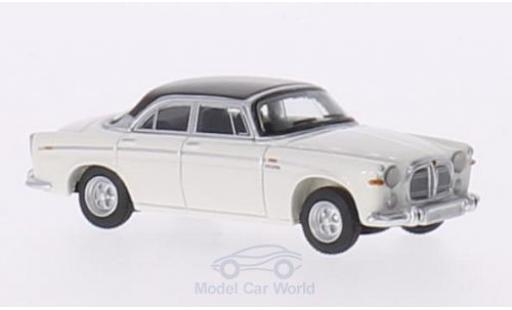 Rover P5B 1/87 BoS Models Coupe blanche/dunkelmarron RHD 1967 miniature