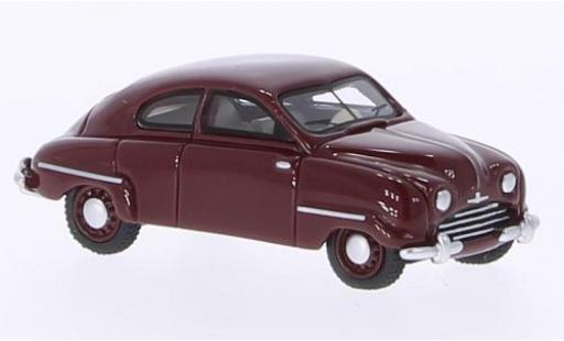 Saab 92B 1/87 BoS Models rouge 1953 miniature