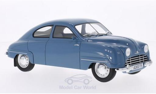 Saab 92B 1/18 BoS Models hellblue 1952 diecast