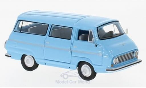 Skoda 1203 1/87 BoS Models Bus bleue 1968 miniature