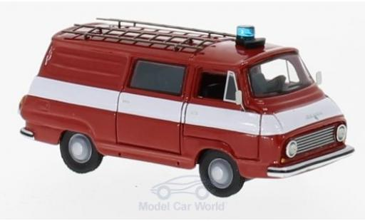 Skoda 1203 1/87 BoS Models Halbbus Feuerwehr 1968 miniature