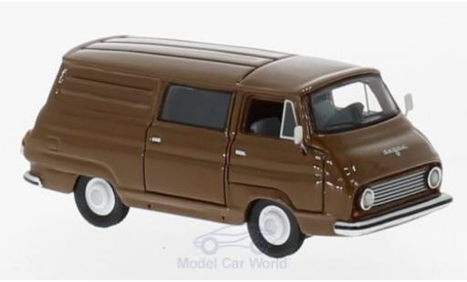 Skoda 1203 1/87 BoS Models Kastenwagen marron 1968 miniature