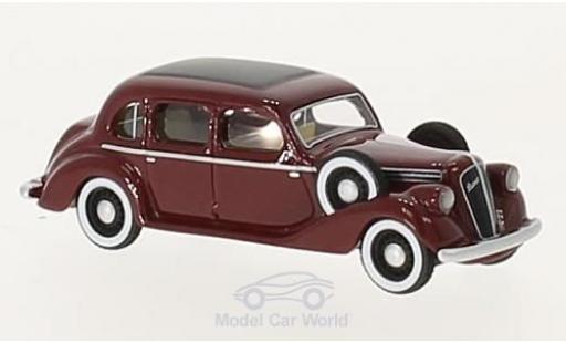 Skoda Superb 1938 1/87 BoS Models 913 rouge RHD miniature
