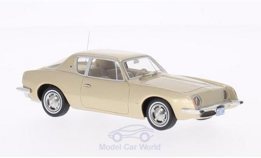 Studebaker Avanti 1/43 BoS Models metallic-beige 1963 miniature