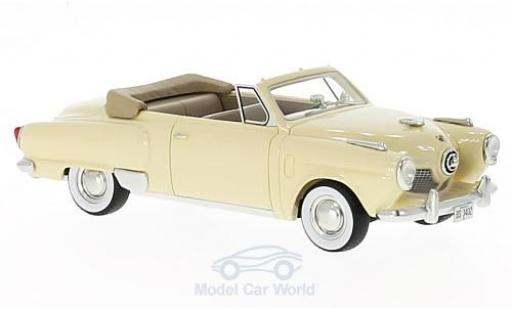 Studebaker Champion 1/43 BoS Models Convertible beige 1951 modellautos