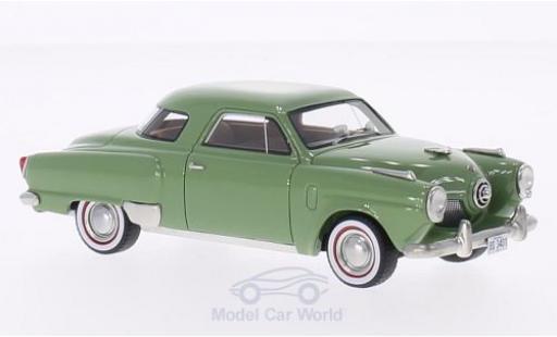 Studebaker Champion 1/43 BoS Models Starlight Coupe verte 1951 miniature