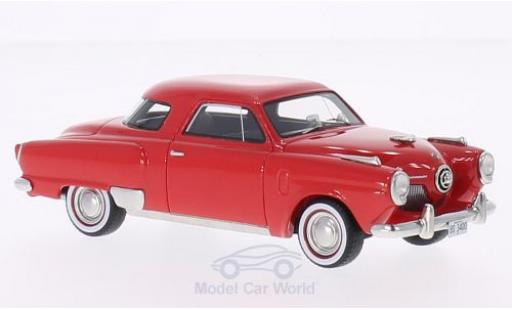 Studebaker Champion 1/43 BoS Models Starlight Coupe rot 1951 modellautos
