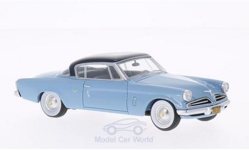 Studebaker Commander 1/43 BoS Models Starliner bleue/bleue 1953 miniature