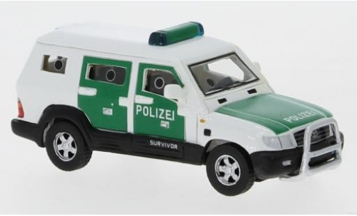 Toyota Land Cruiser 1/87 BoS Models Survivor Polizei 2004 diecast model cars