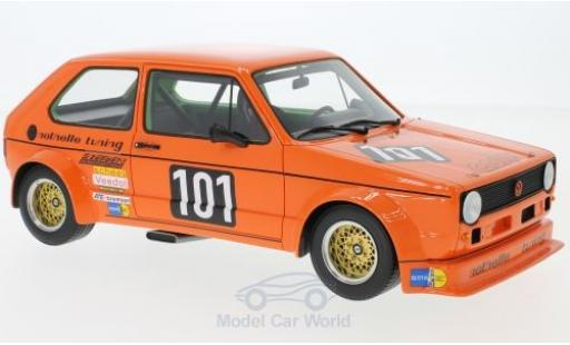 Volkswagen Golf V 1/18 BoS Models I Gr.2 orange No.101 Note 1975 modellino in miniatura