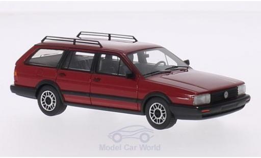 Volkswagen Passat 1/43 BoS Models Variant GT Syncro rouge 1985 miniature