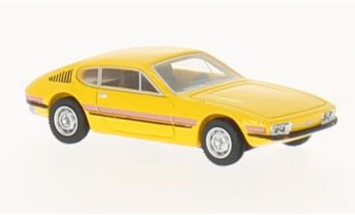 Volkswagen SP2 1/87 BoS Models amarillo/Dekor 1972 coche miniatura