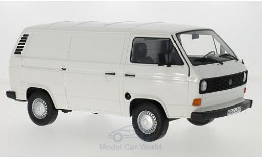 Volkswagen T3 A 1/18 BoS Models a blanche 1979 Kasten miniature