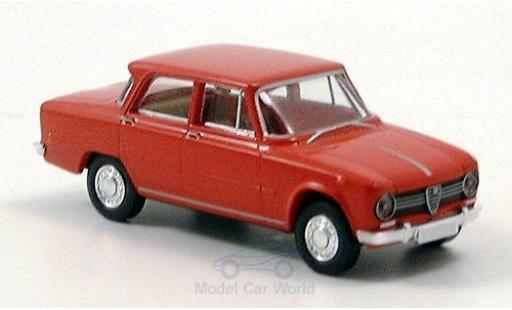 Alfa Romeo Giulia 1/87 Brekina 1300 rojo 1964 miniatura