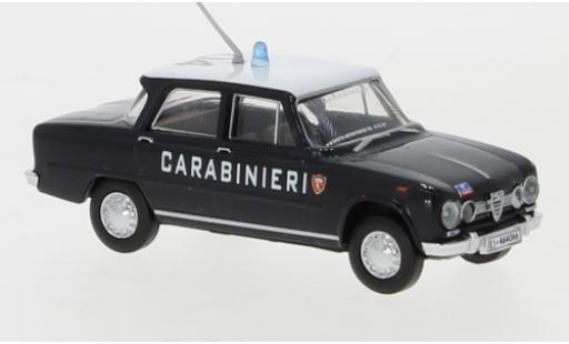 Alfa Romeo Giulia 1/87 Brekina 1600 Carabinieri 1962 Dachnummer 04 diecast model cars