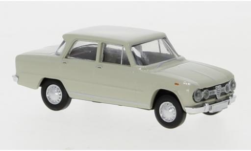 Alfa Romeo Giulia 1/87 Brekina 1600 grise 1962 miniature