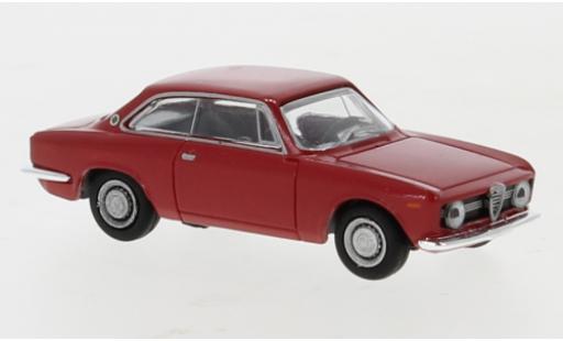 Alfa Romeo Giulia 1/87 Brekina Sprint GT rouge 1974 miniature