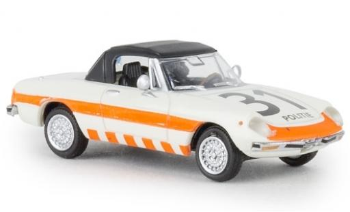Alfa Romeo Spider 1/87 Brekina Politie 31 1969 geschlossen TD modellautos
