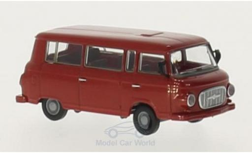 Barkas B 1000 1/87 Brekina Bus rouge miniature