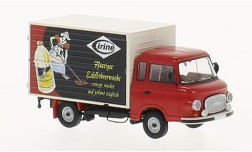 Barkas B 1000 1/87 Brekina Cirine wagon conteneur miniature