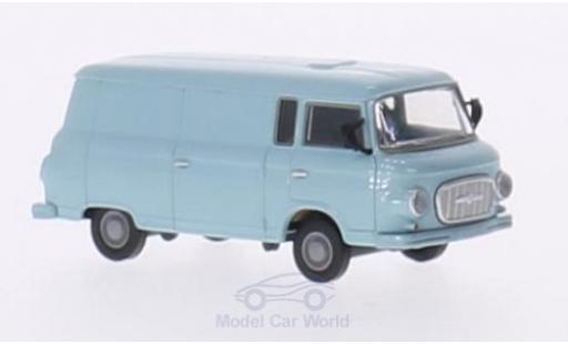 Barkas B 1000 1/87 Brekina bleue Kasten miniature