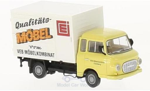 Barkas B 1000 1/87 Brekina VEB Möbelk. Eisenberg Koffer miniature