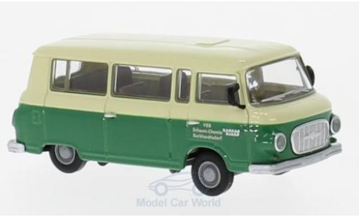 Barkas B1000 1/87 Brekina Bus VEB Schaum-Chemie Burkhardtsdorf miniature
