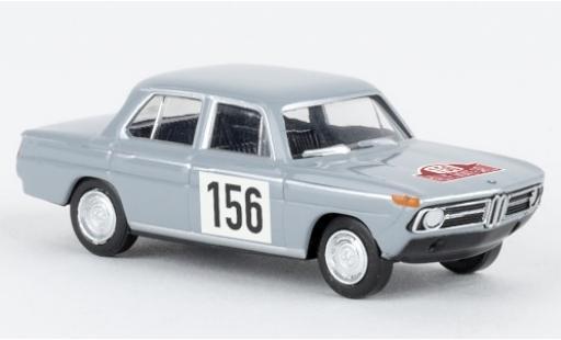 Bmw 1800 1/87 Brekina tii Rallye Monte Carlo 1967 coche miniatura