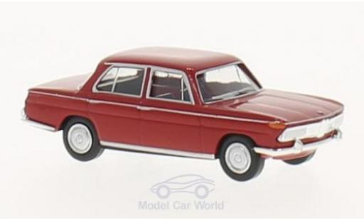Bmw 2000 1/87 Brekina rouge miniature